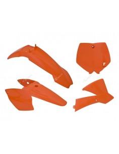Kit plastiche RACETECH arancio x KTM SX 65 2002/2008 4 Pezzi