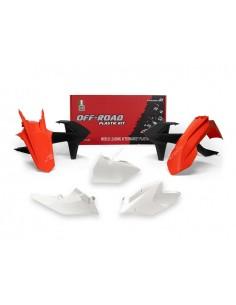 Kit plastiche RACETECH colore originale x KTM EXC-EXCF-XC/W 250-300-350-450-500 2017-2018 XC/W 125-150 2017-2018 5 Pezzi