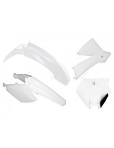 Kit plastiche RACETECH bianco x KTM SX 85 2006/2012 4 Pezzi