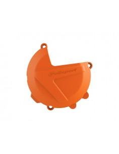 Protezione carter frizione arancio POLISPORT per Ktm
