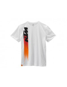 T-Shirt KTM - faded tee bianca