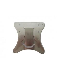 Portatarga in alluminio OJC clik clak universale antivibrazione compreso di viti di fissaggio