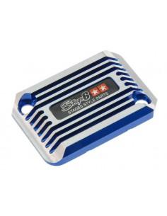 Coperchio pompa freno SSP CNC Type cooling style blu x Nitro/Aerox