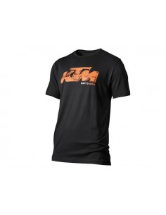 T-Shirt KTM - faded tee nera