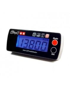 Contagiri digitale e lettura temperatura STAGE6 MKI nero