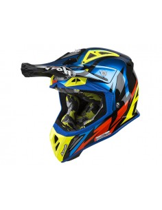 Casco AIROH 2019 Aviator 2.3 AMS² great blue chrome