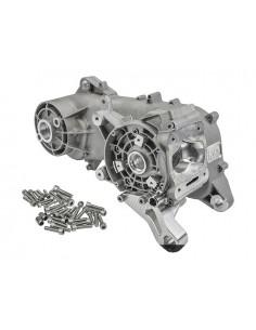 Coppia carter motore R&D modular x 70cc R&D, barenatura albero 76 X 44mm x Piaggio braccio corto