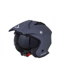 Casco ACERBIS jet aria helmet grigia