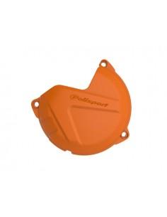 Protezione carter frizione arancio POLISPORT per Ktm 125 SX 09-15