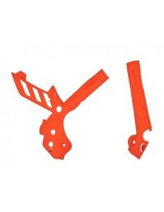 Protezione telaio Polisport per ktm 11-16 arancione