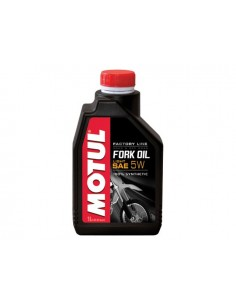 1 lt olio forcella MOTUL synthetic sae 5W