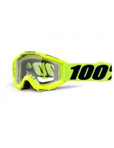Maschera 100% accuri OTG yellow fluo