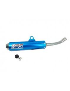 Silenziatore blu HGS per KTM exc 125 05/16