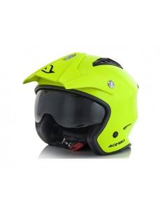 Casco ACERBIS jet aria helmet giallo fluo