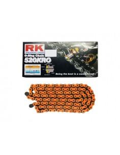 Catena RK 520 KRO 120 maglie CFL arancio