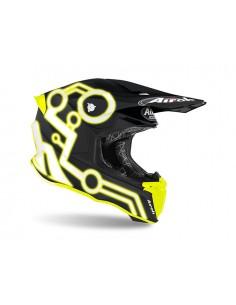 Casco AIROH Twist 2.0 Neon yellow matt