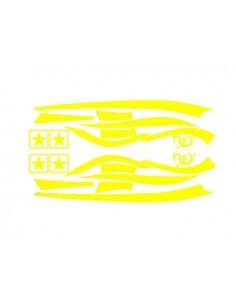 Kit adesivi R&D Replica giallo Fluo x Piaggio Zip MKI