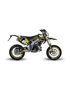 Kit grafiche STAGE6 giallo-nero x HM-VENT 50 Motard 2011/2018