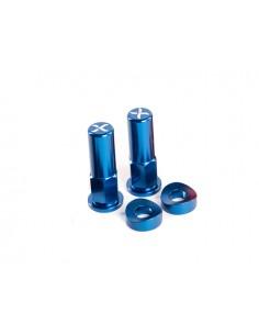 Kit dadi X-GRIP blu per fermacopertone ruota