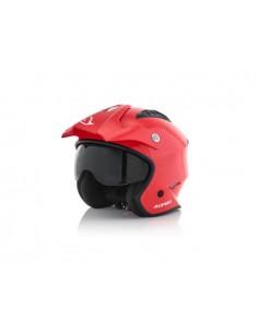 Casco ACERBIS jet aria helmet rosso