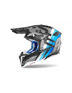 Casco AIROH 2021 Aviator 3 Rainbow Anthracite matt