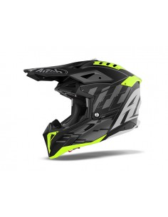 Casco AIROH 2021 Aviator 3 Rampage Black matt