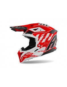 Casco AIROH 2021 Aviator 3 Rampage Red gloss