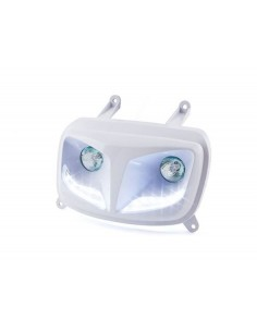 Fanale anteriore STR8 EYELIGHT bianca con led x MBK Booster 2004
