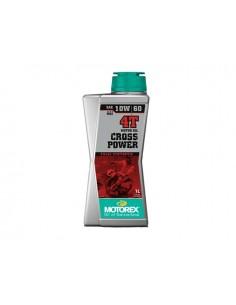 1 lt olio MOTOREX Cross Power 4T 10W/60