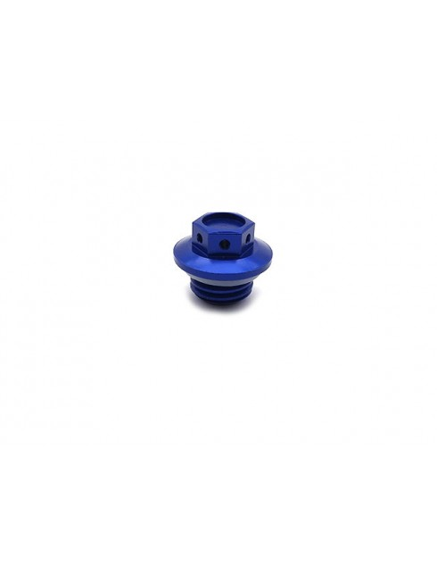 Tappo olio motore blu x Minarelli AM6 ( M16x2 )